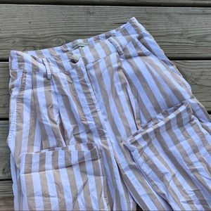 Urban Outfitters striped trousers